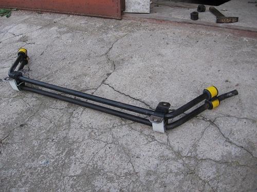 Поперечный стабилизатор на ВАЗ 2106