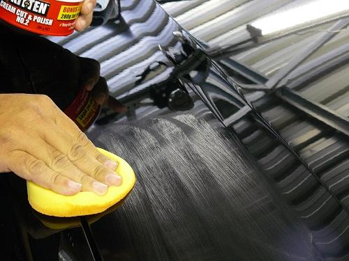 Ручная полировка кузова машины