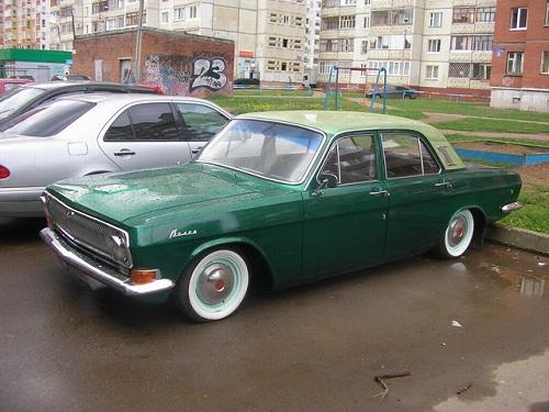 Ретроюнинг русских авто