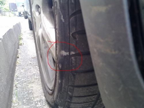 Плановый осмотр состояния колес