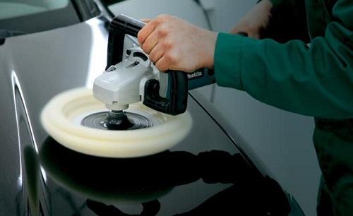 восстановление ЛКП автомобиля при помощи пасты 3М