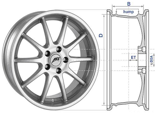 Подбор колес по марке авто