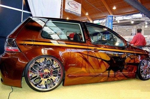 Проект с выставки тюнингованных авто