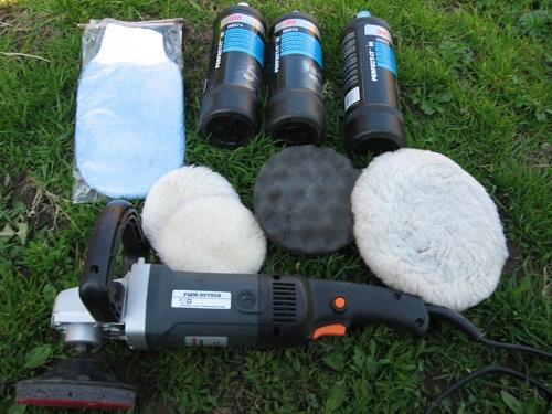 Инструменты для профессиональной полировки кузова ТС