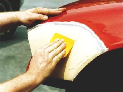 Шпаклёвка автомобиля своими руками