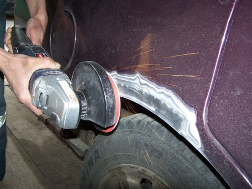Ремонт кузова авто без сварочных работ