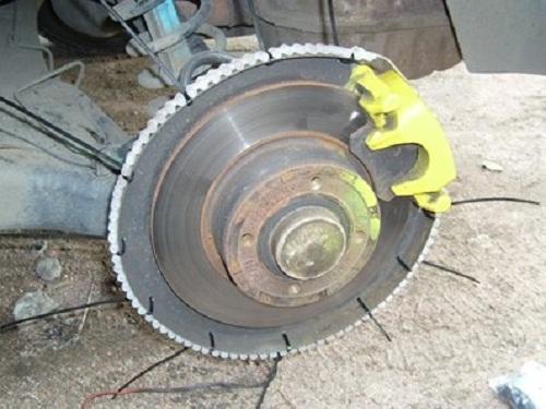 Крепление светодиодной ленты на диск