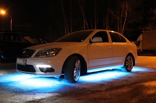 Светодиоды для внешнего освещения автомобиля