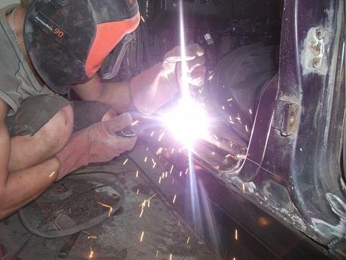 Смотреть видео ремонта порогов