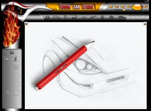 Программа на ПК для рисования авто