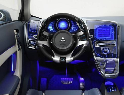 Тюнинг подсветки салона автомобиля