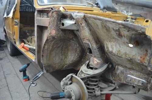 Видео ремонт кузова своими руками фото 117